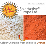 white to orange